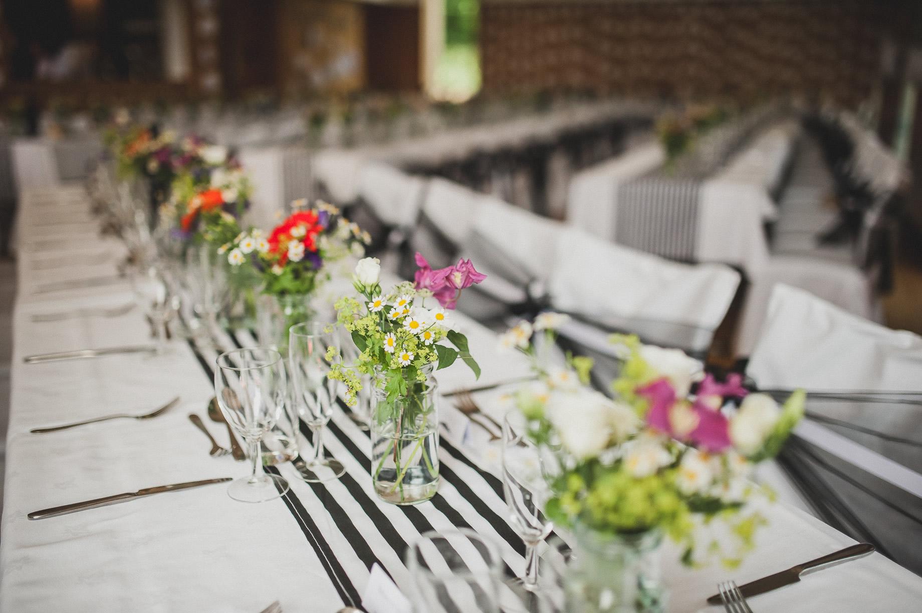Becky and John's Wedding at Slaidburn Village Hall 116