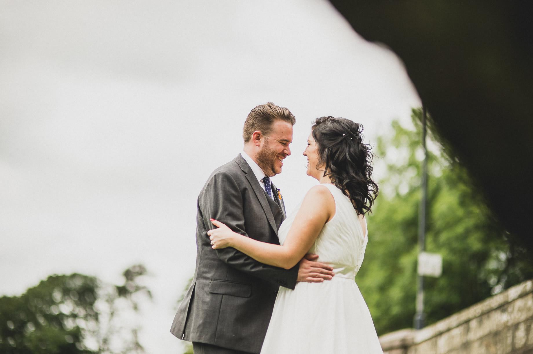 Becky and John's Wedding at Slaidburn Village Hall 118