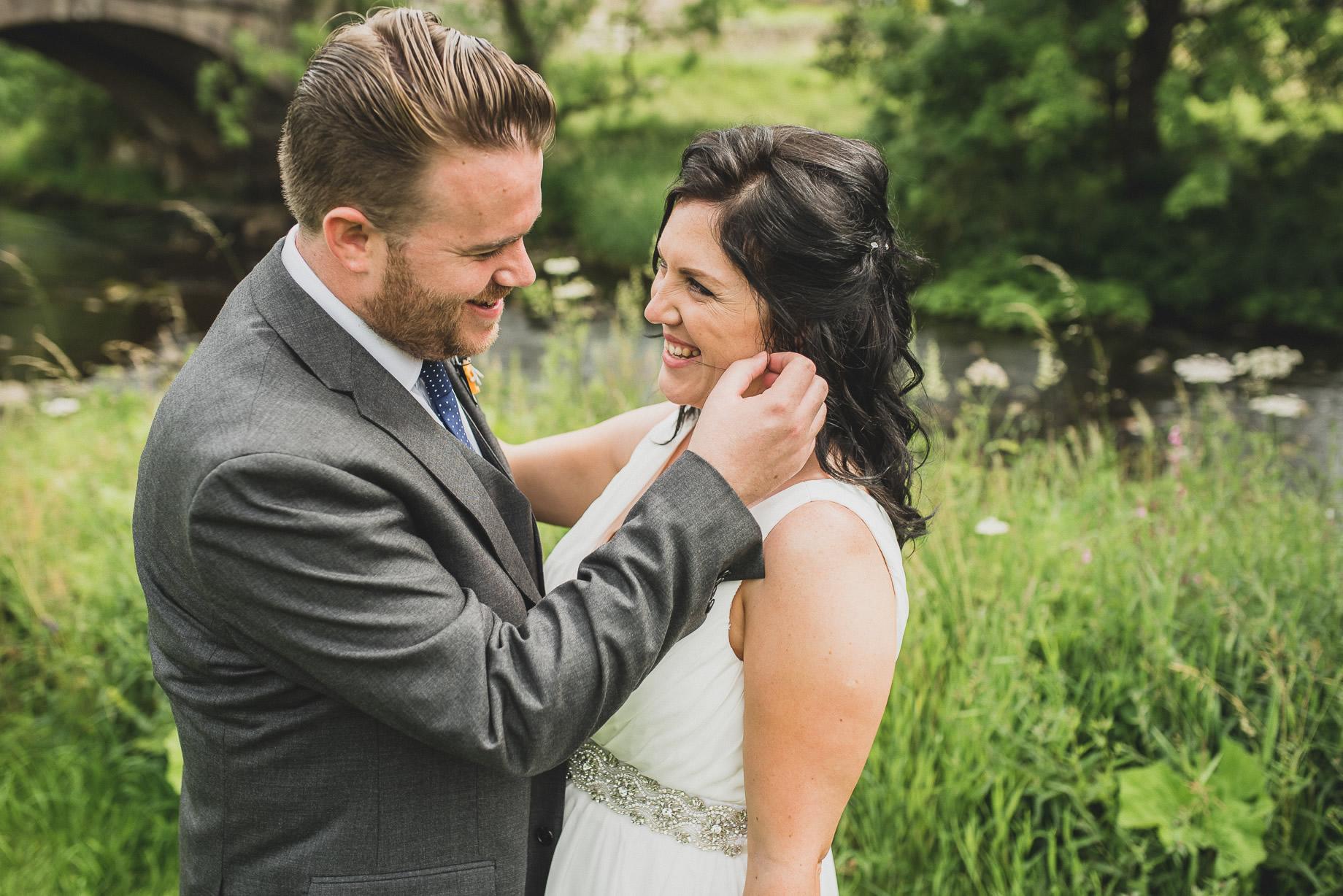 Becky and John's Wedding at Slaidburn Village Hall 119