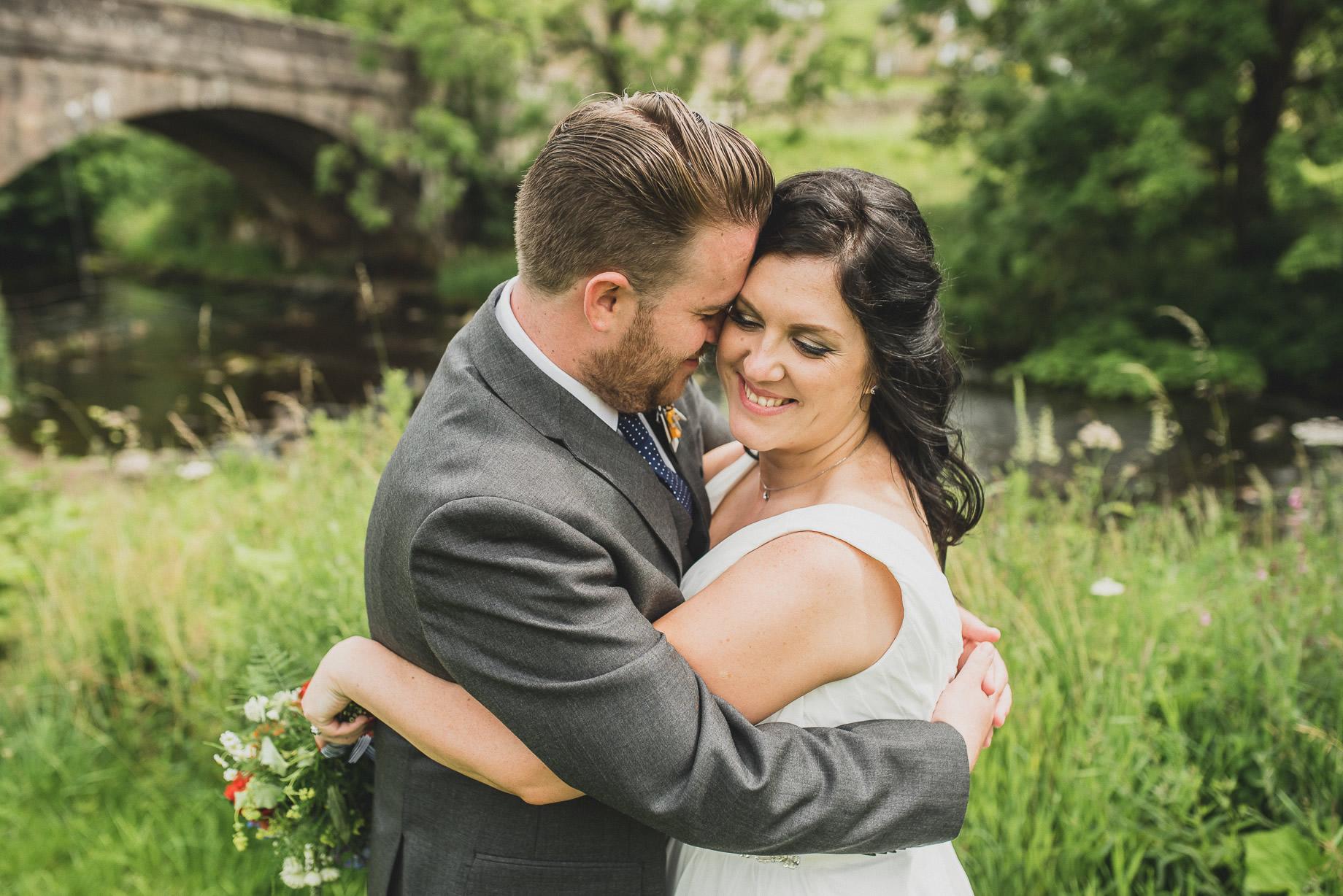 Becky and John's Wedding at Slaidburn Village Hall 120