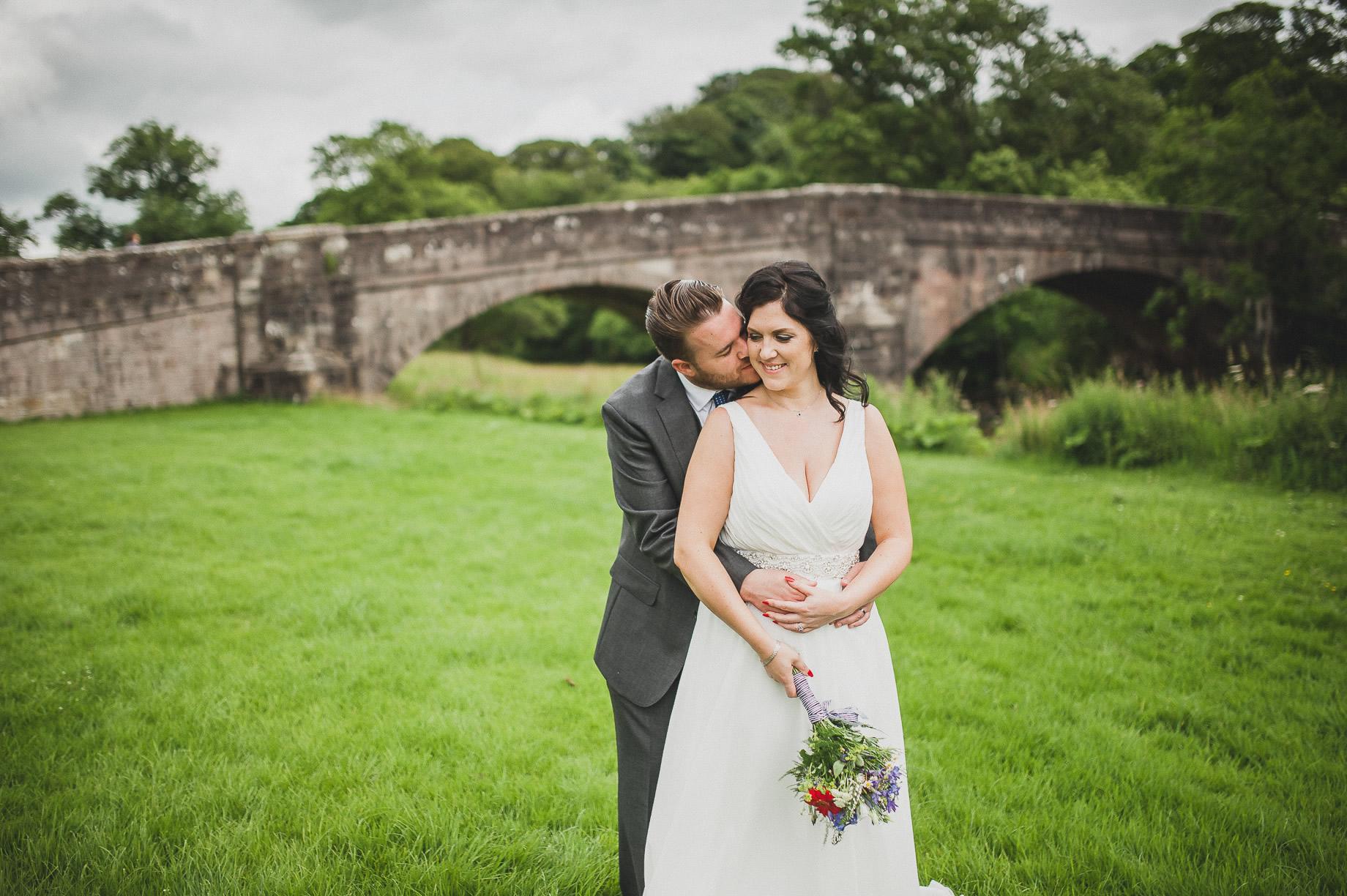 Becky and John's Wedding at Slaidburn Village Hall 122