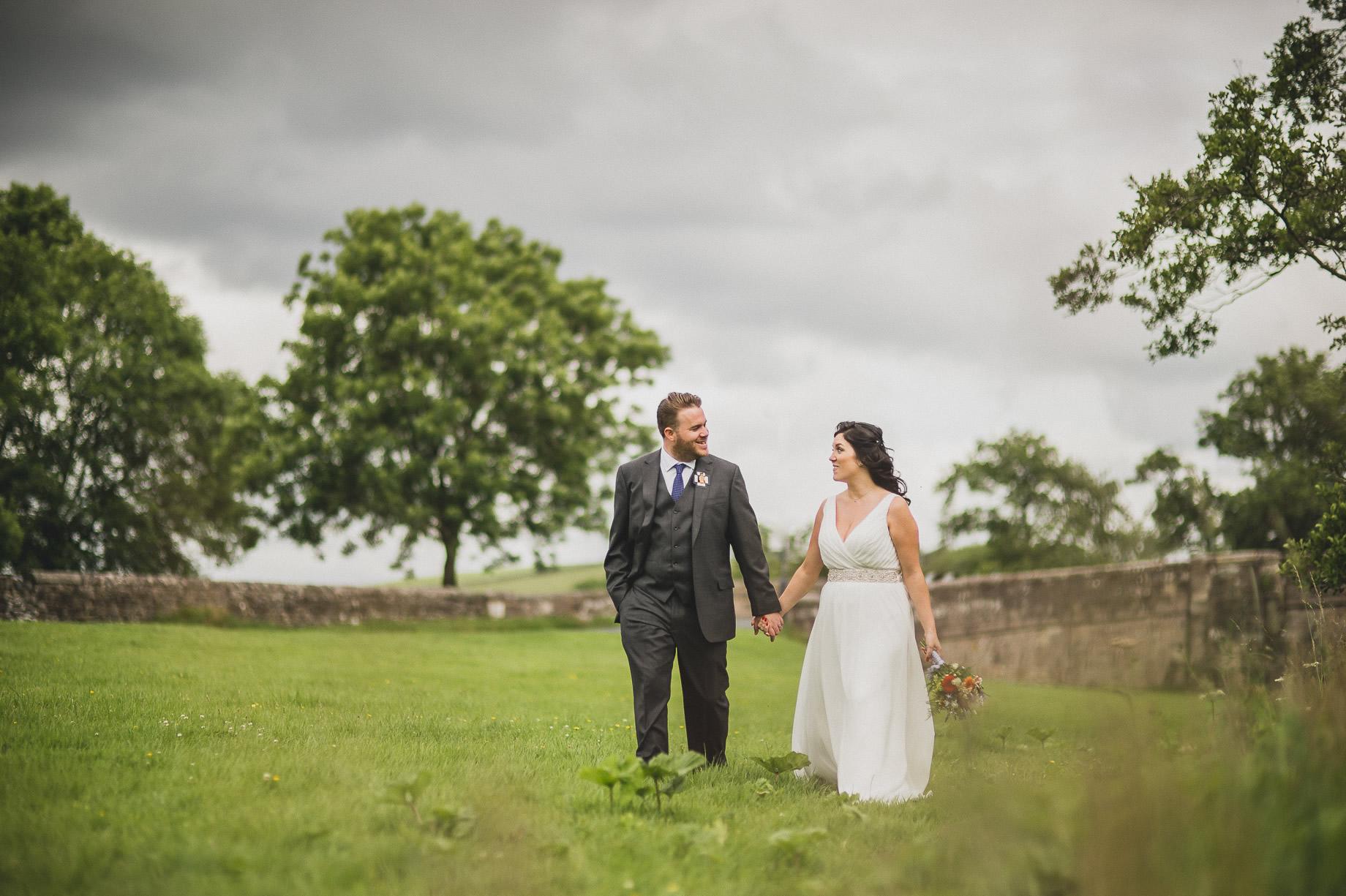 Becky and John's Wedding at Slaidburn Village Hall 125