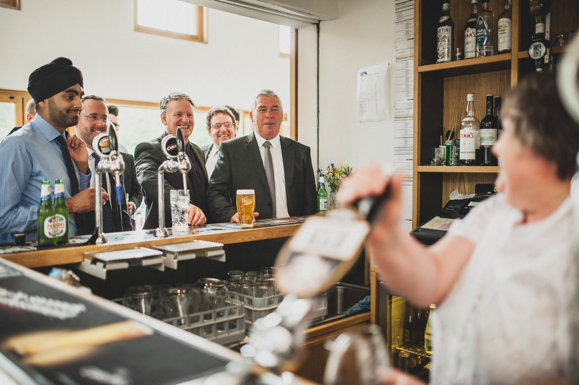 Becky and John's Wedding at Slaidburn Village Hall 131