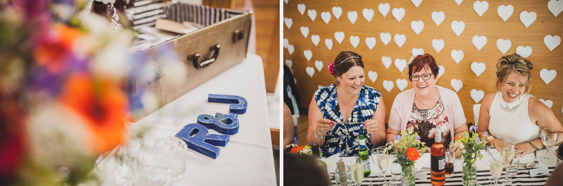 Becky and John's Wedding at Slaidburn Village Hall 135