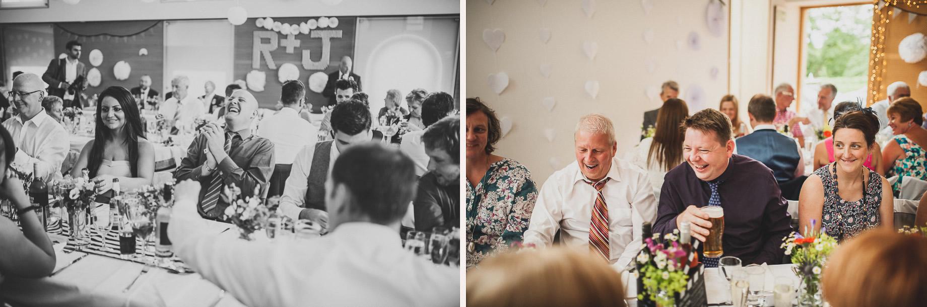 Becky and John's Wedding at Slaidburn Village Hall 137