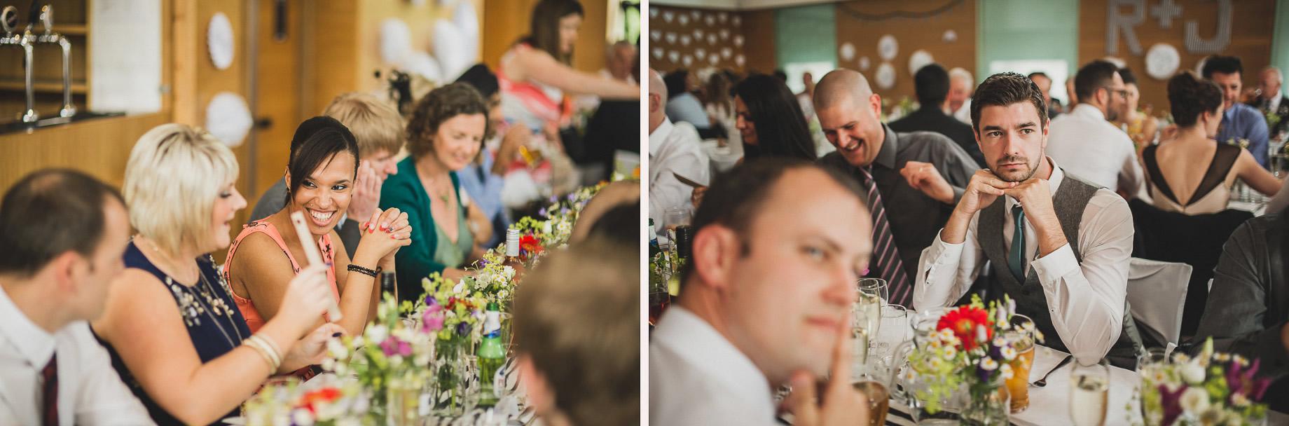Becky and John's Wedding at Slaidburn Village Hall 138