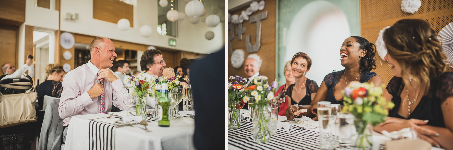 Becky and John's Wedding at Slaidburn Village Hall 142