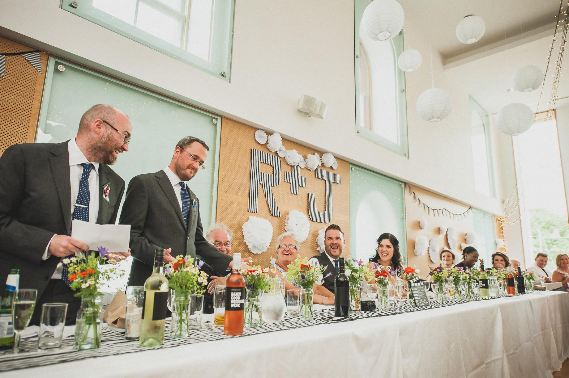 Becky and John's Wedding at Slaidburn Village Hall 149