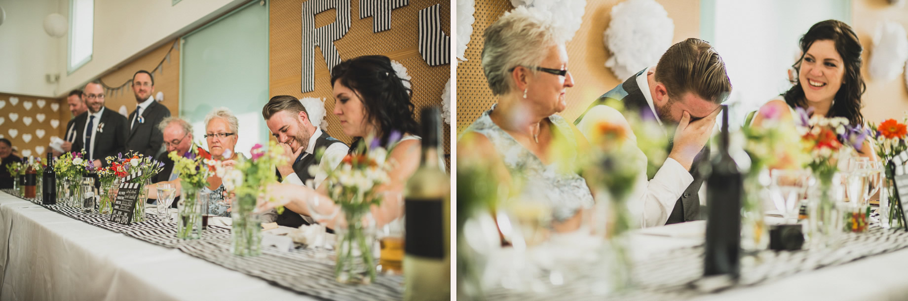 Becky and John's Wedding at Slaidburn Village Hall 150