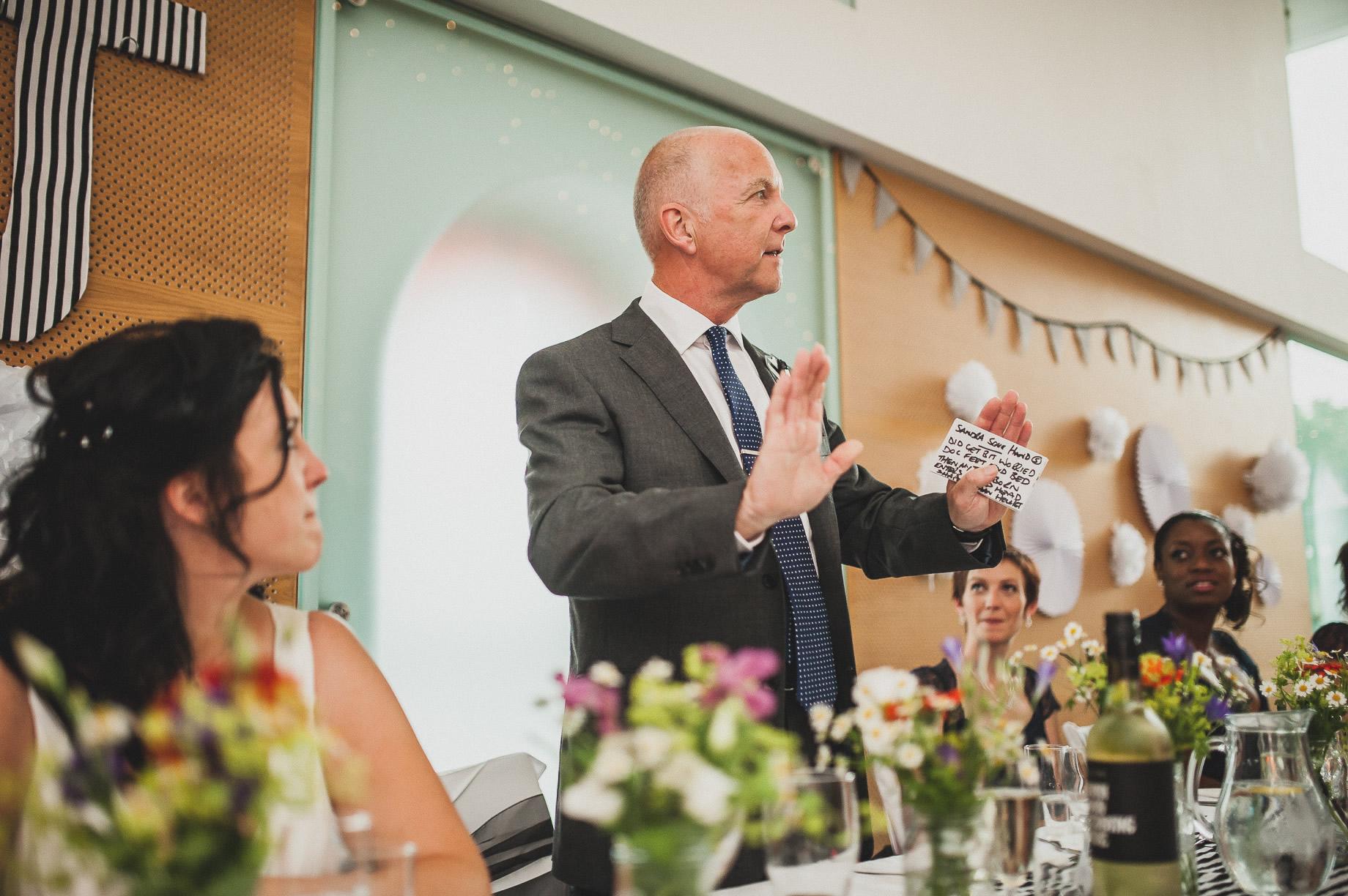 Becky and John's Wedding at Slaidburn Village Hall 157