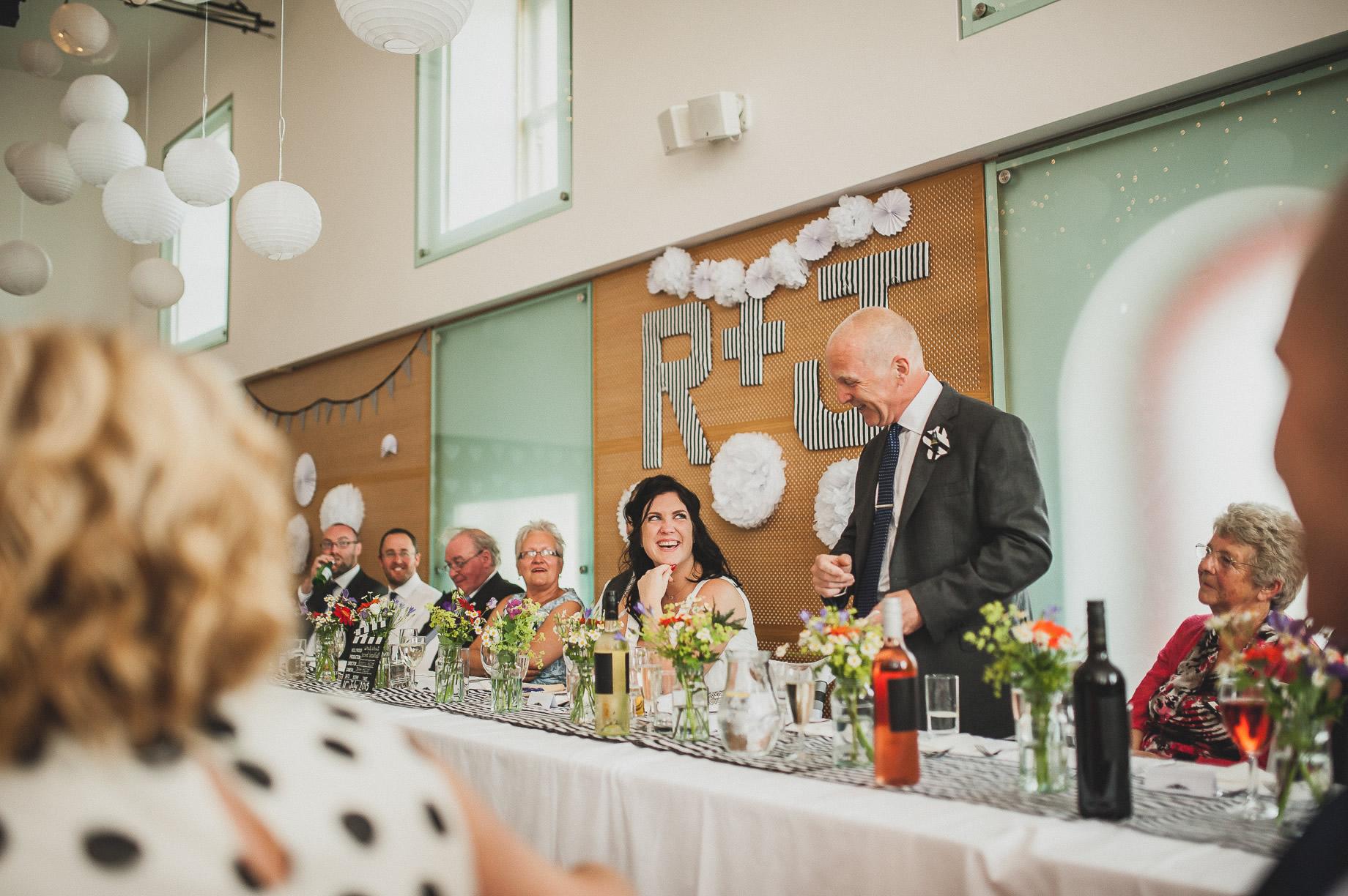 Becky and John's Wedding at Slaidburn Village Hall 160