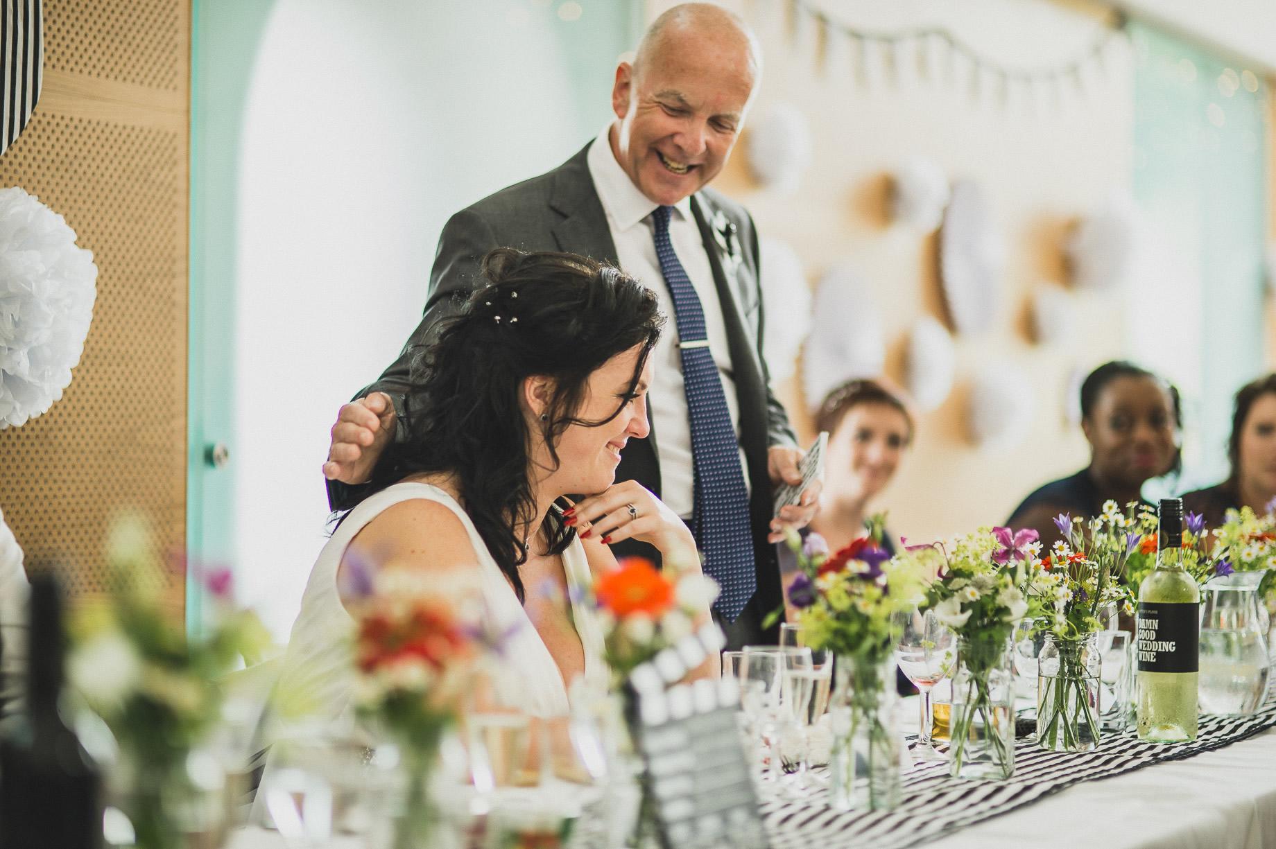 Becky and John's Wedding at Slaidburn Village Hall 162