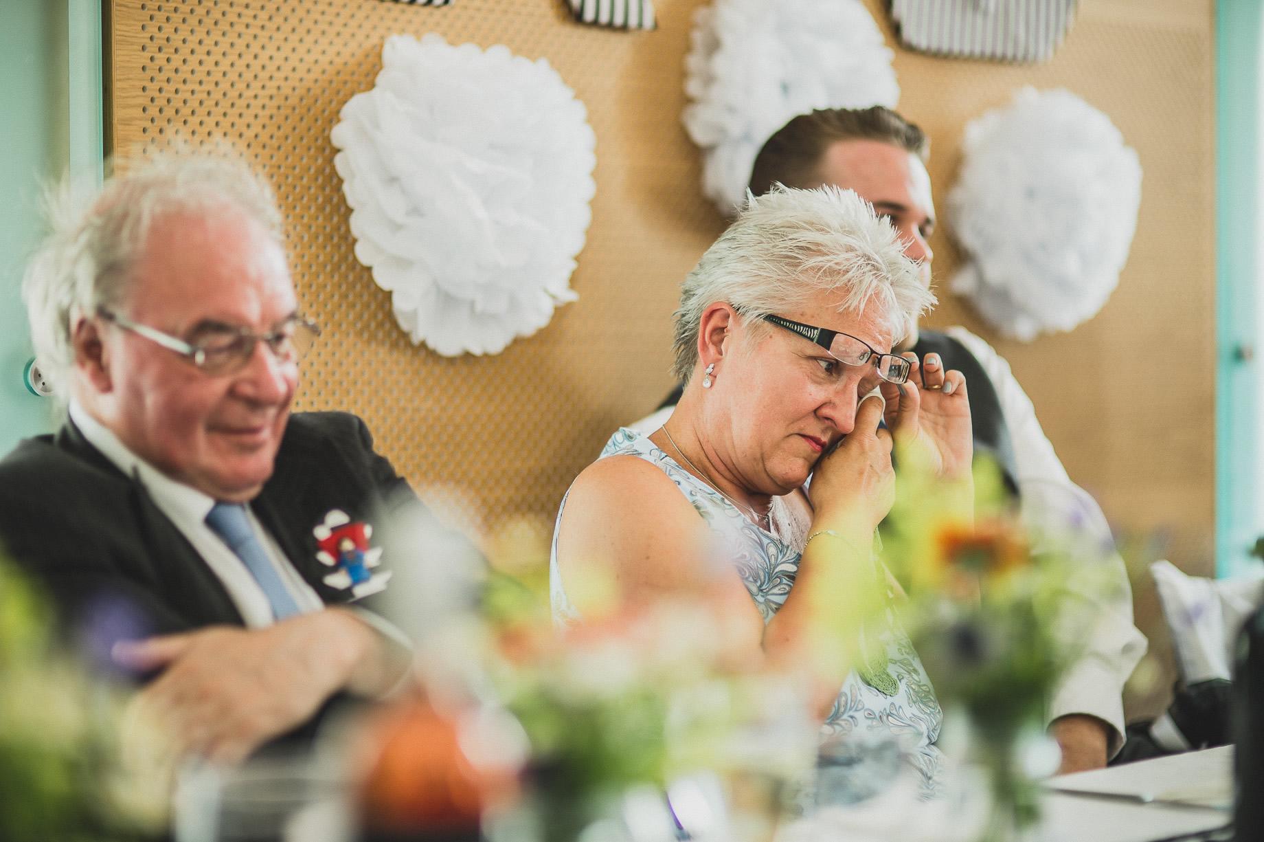 Becky and John's Wedding at Slaidburn Village Hall 163