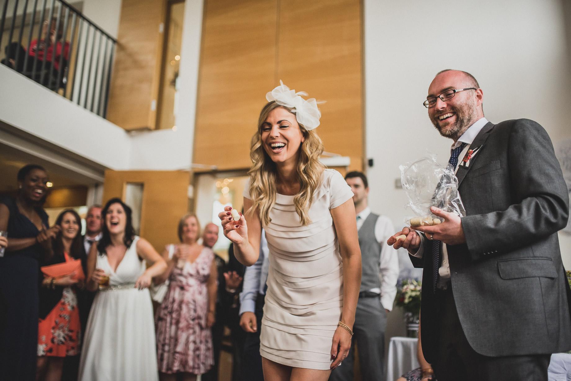 Becky and John's Wedding at Slaidburn Village Hall 182