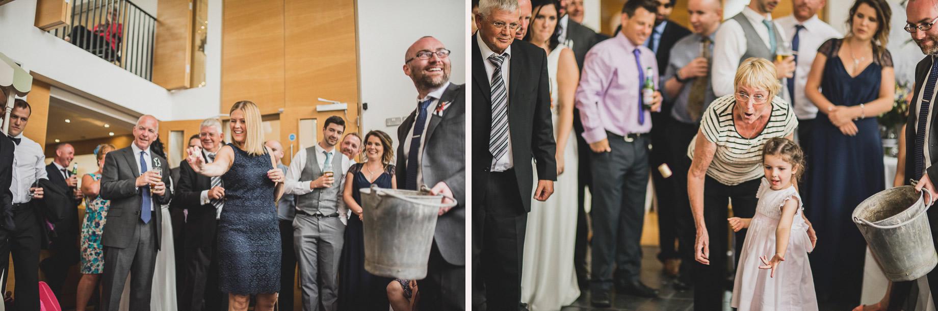 Becky and John's Wedding at Slaidburn Village Hall 186