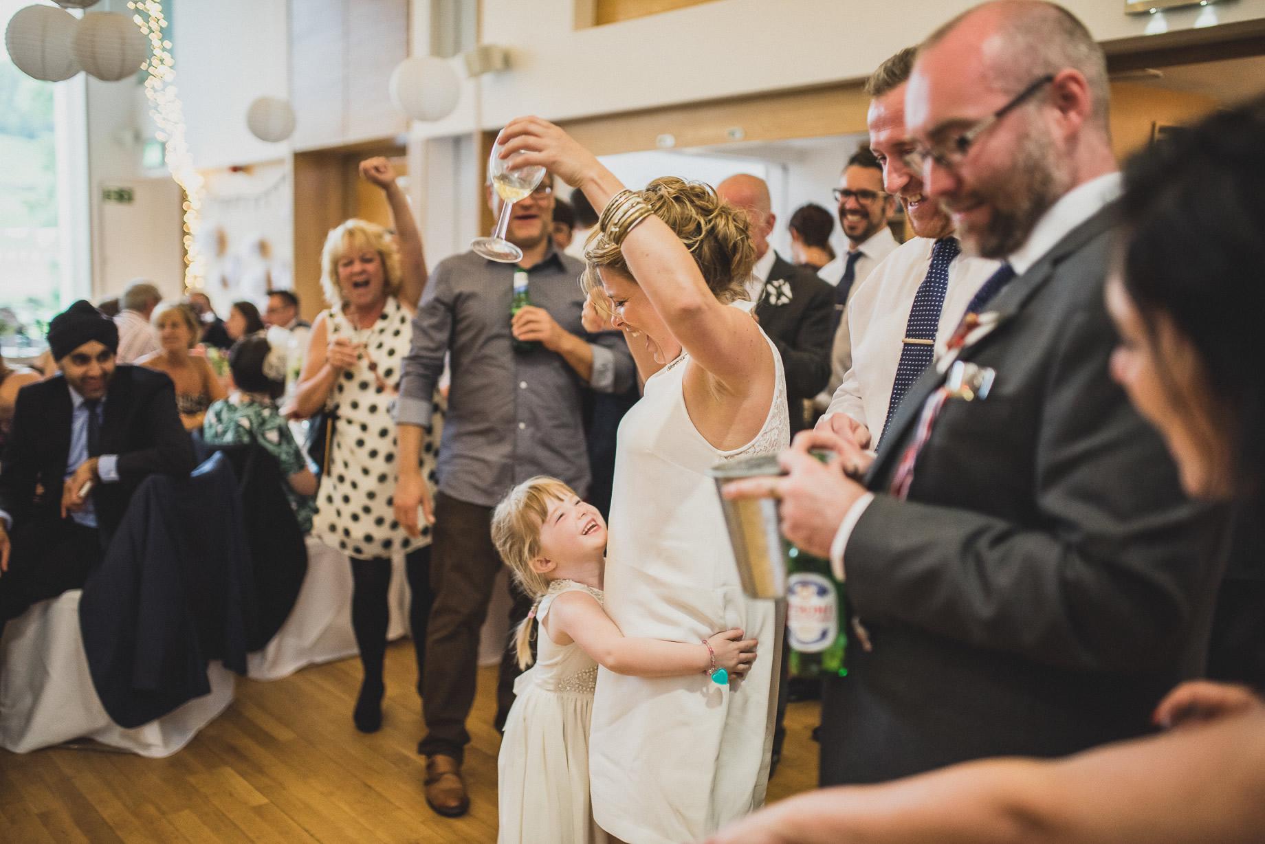 Becky and John's Wedding at Slaidburn Village Hall 191