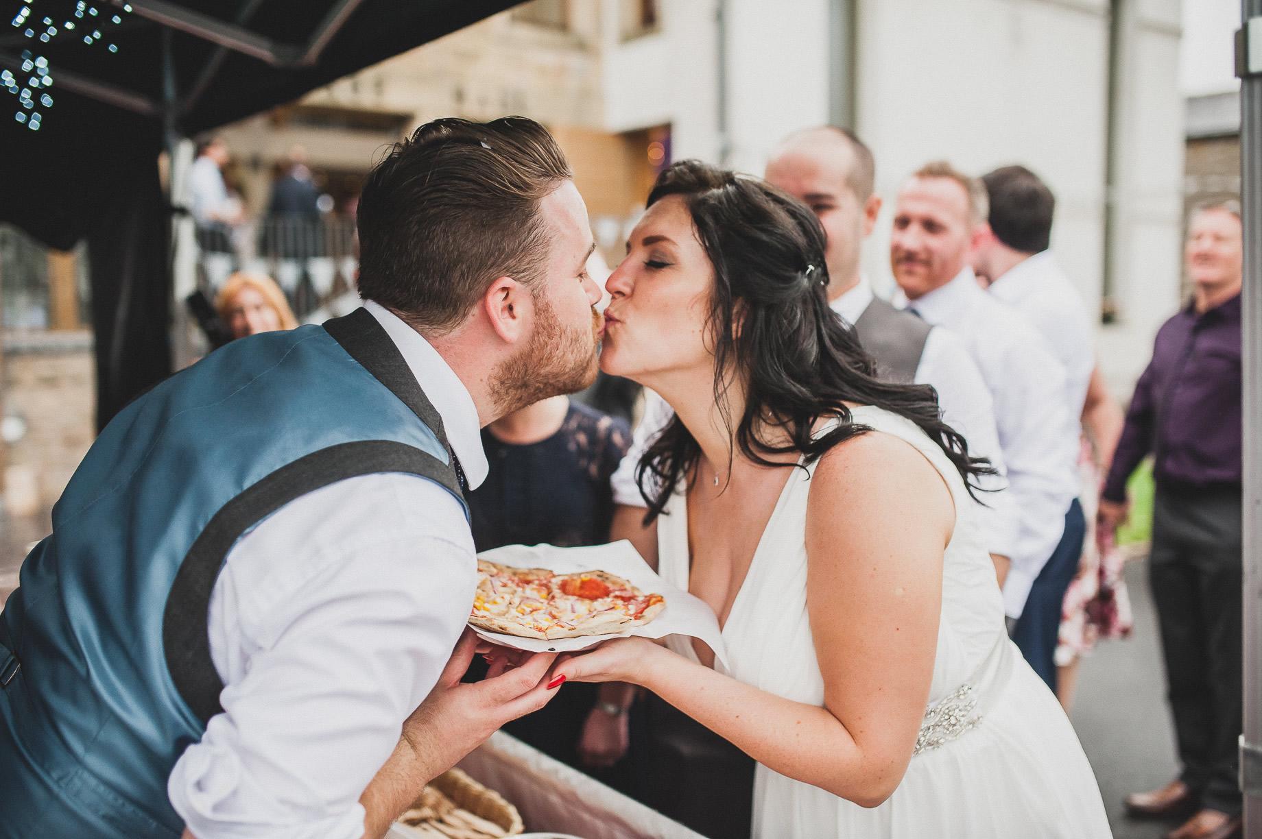 Becky and John's Wedding at Slaidburn Village Hall 201