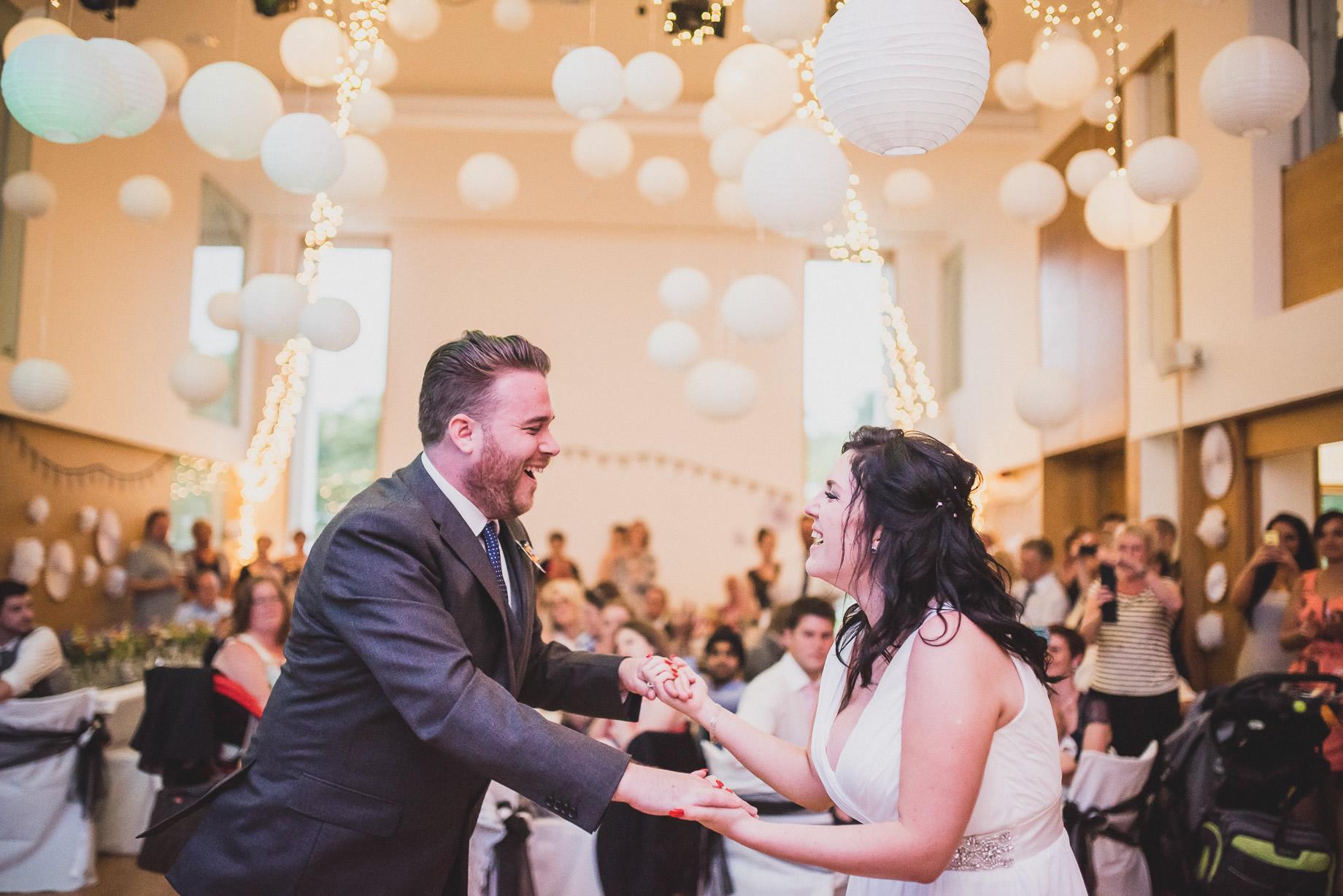 Becky and John's Wedding at Slaidburn Village Hall 211