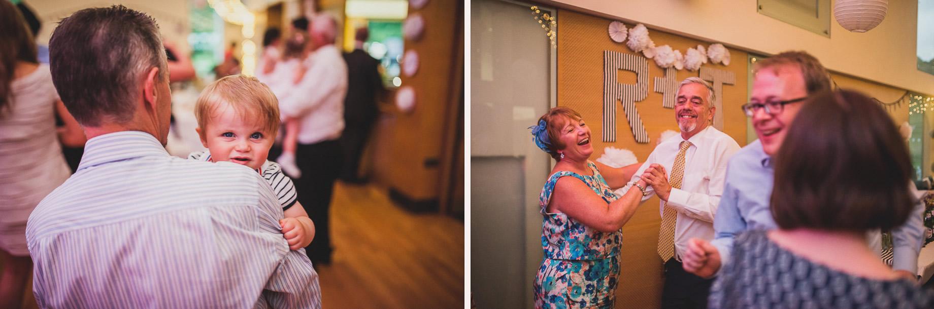 Becky and John's Wedding at Slaidburn Village Hall 220