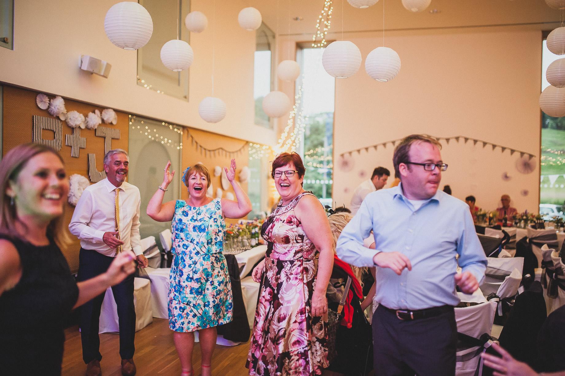 Becky and John's Wedding at Slaidburn Village Hall 222