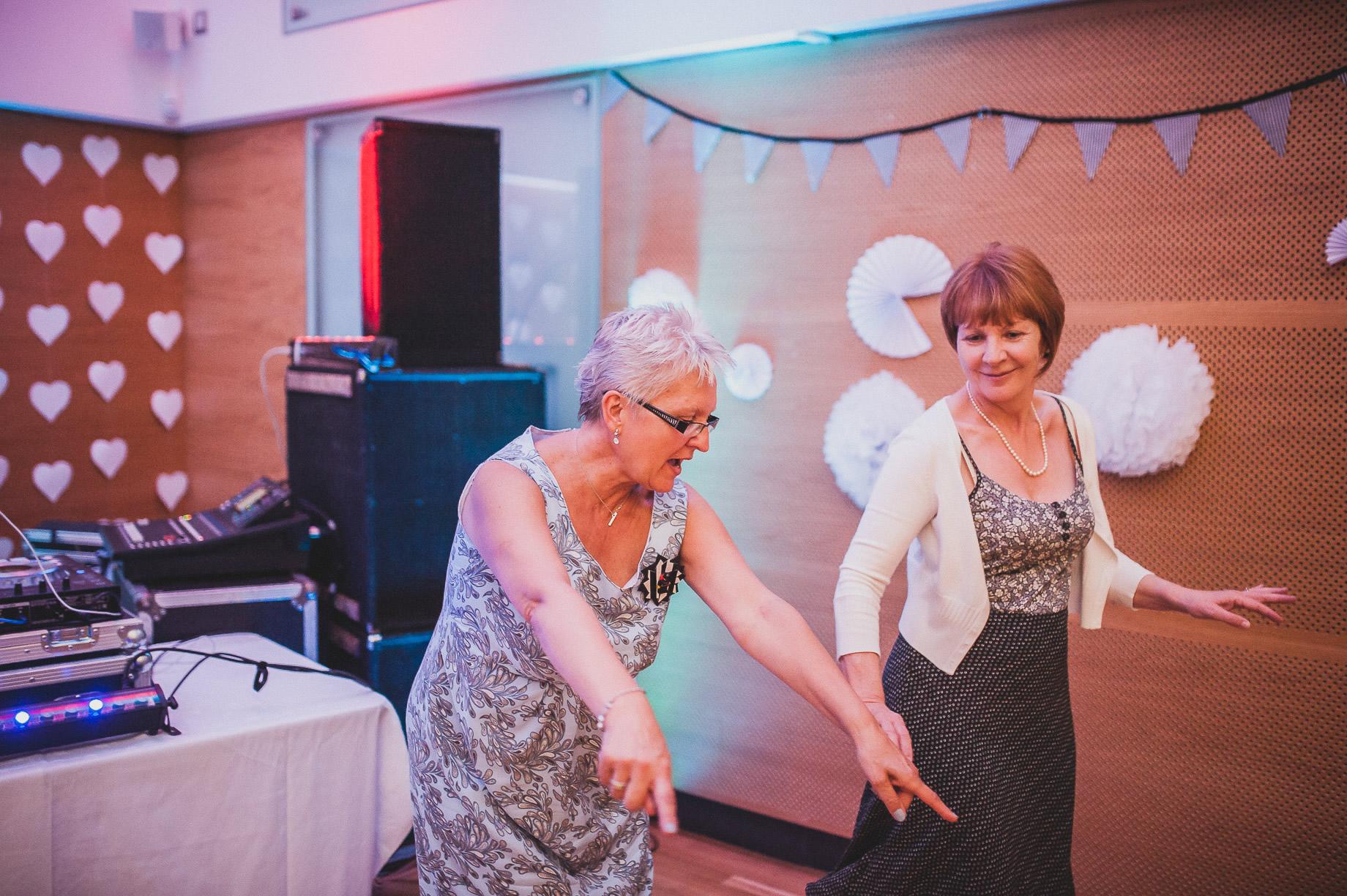 Becky and John's Wedding at Slaidburn Village Hall 226