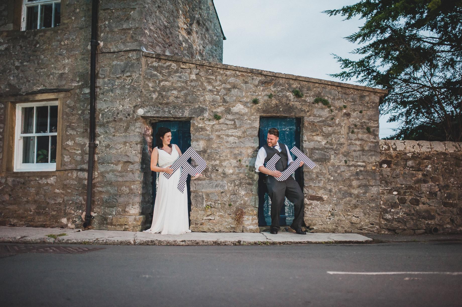 Becky and John's Wedding at Slaidburn Village Hall 227