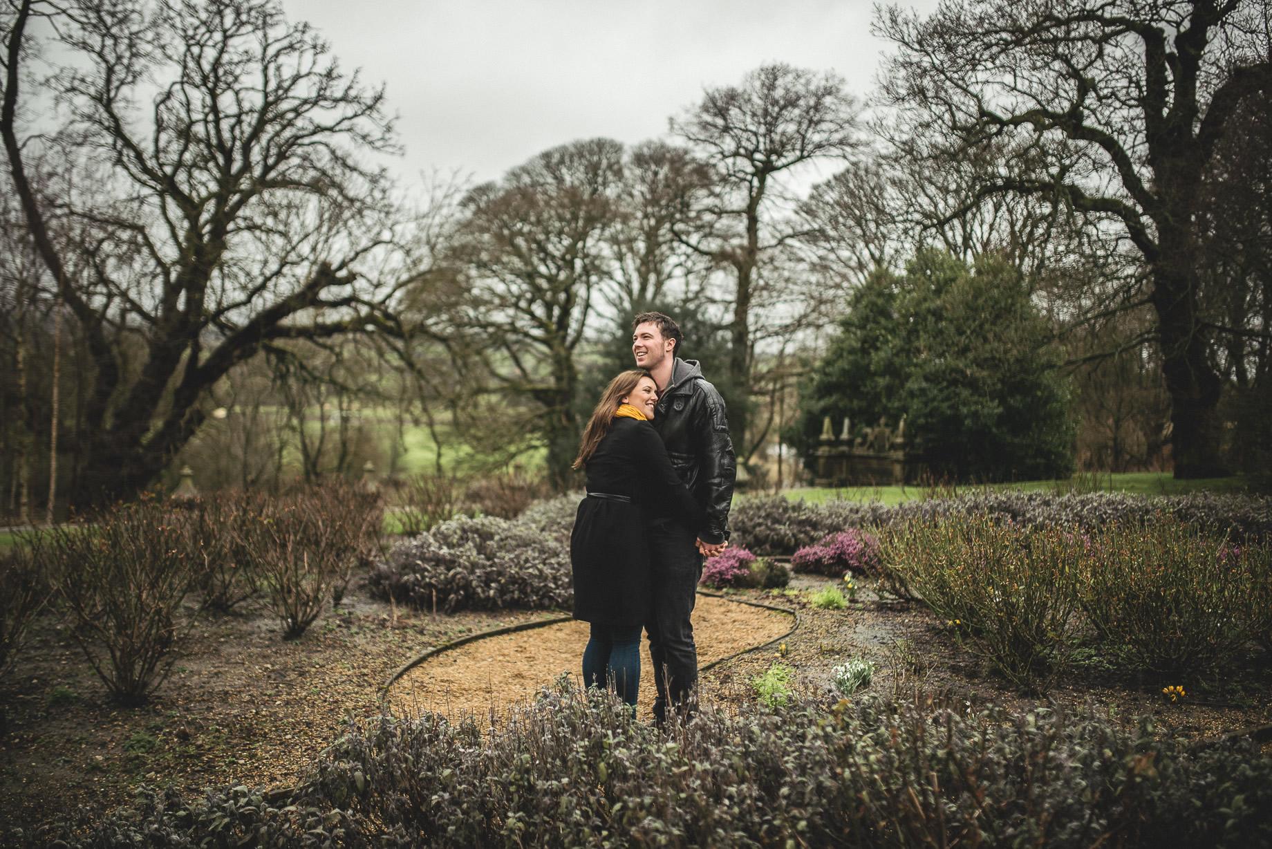 Rachael and Gareth Portrait Shoot at Gawthorpe Hall 006