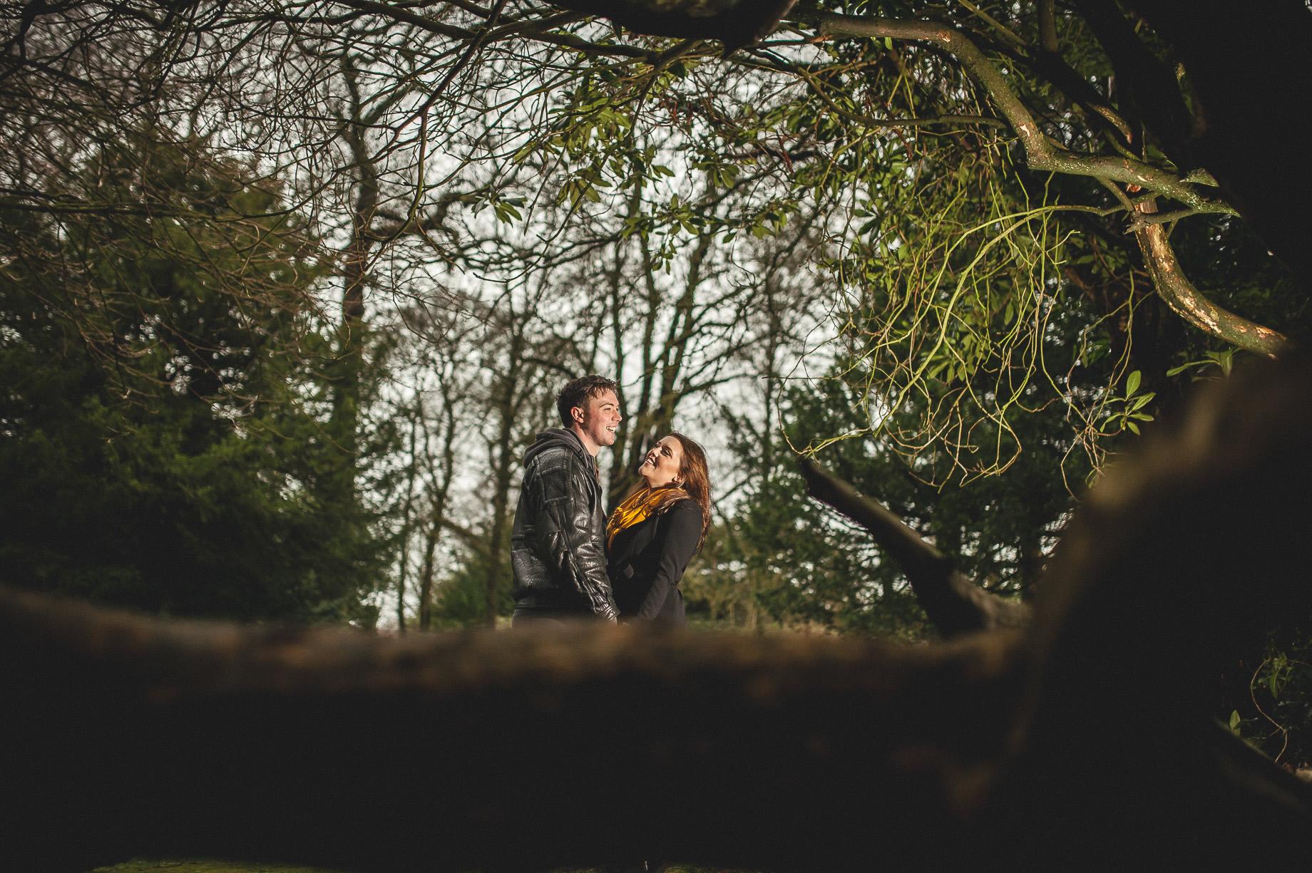 Rachael and Gareth Portrait Shoot at Gawthorpe Hall 021