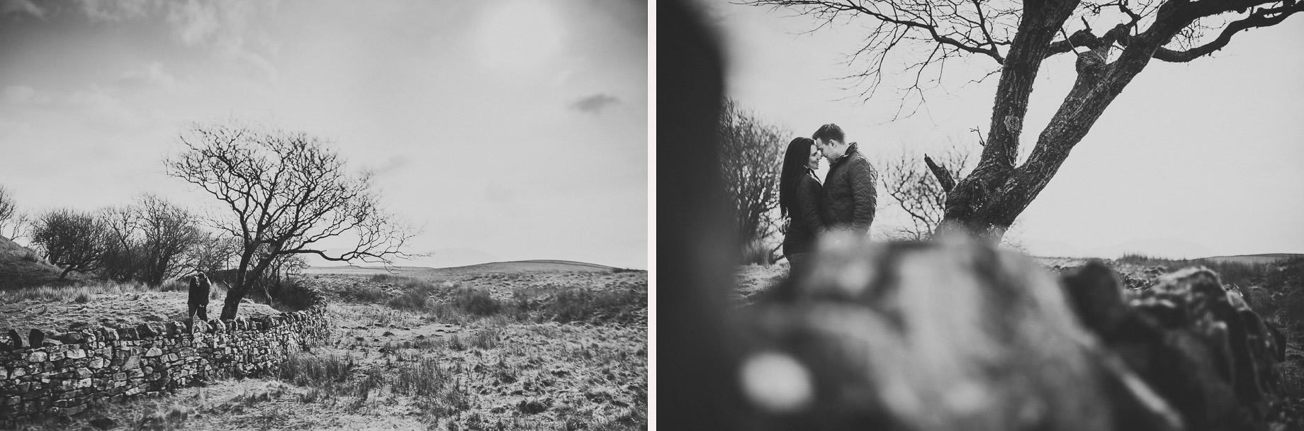 Rachael and Matt's Pre-Wedding Shoot at The Ribblehead Viaduct 023