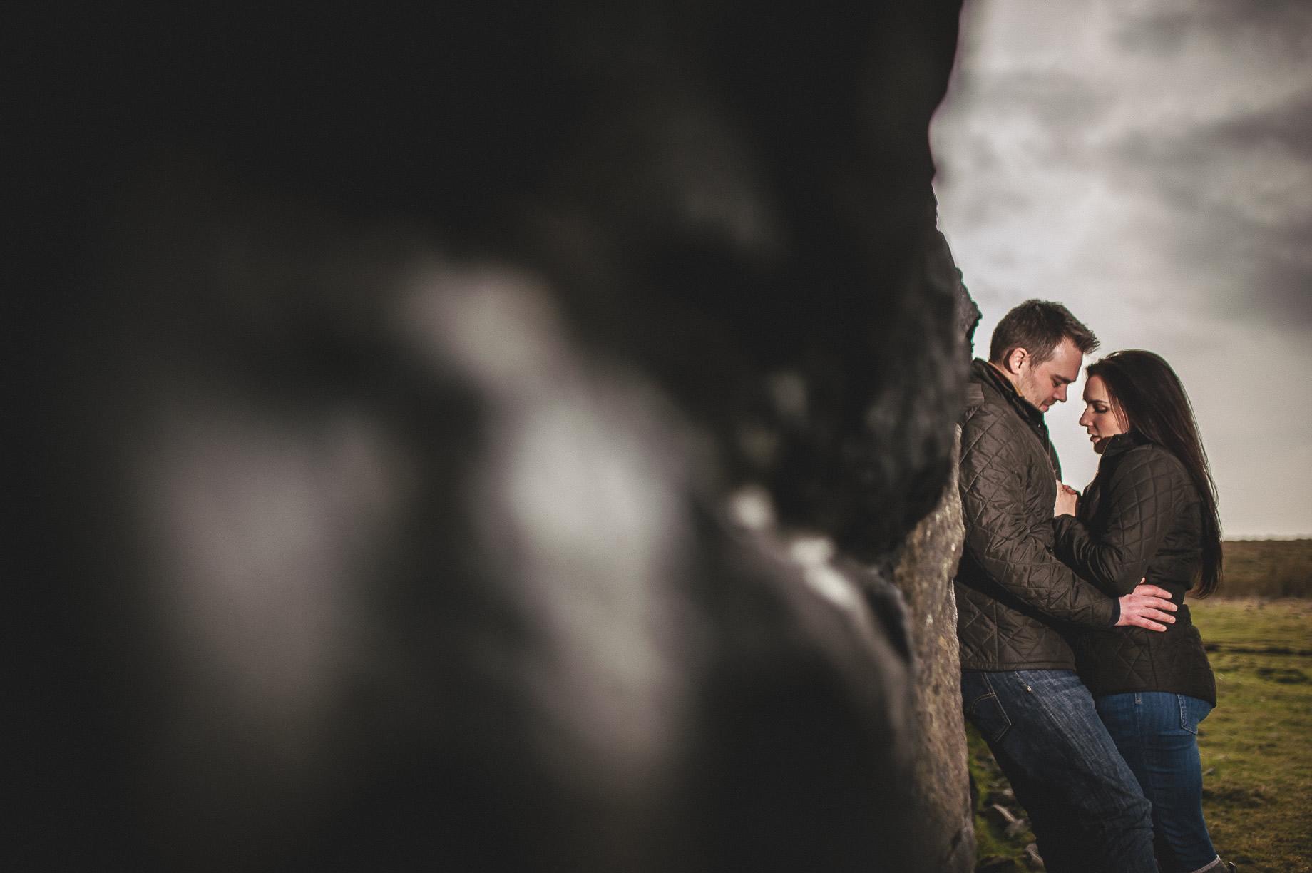 Rachael and Matt's Pre-Wedding Shoot at The Ribblehead Viaduct 027