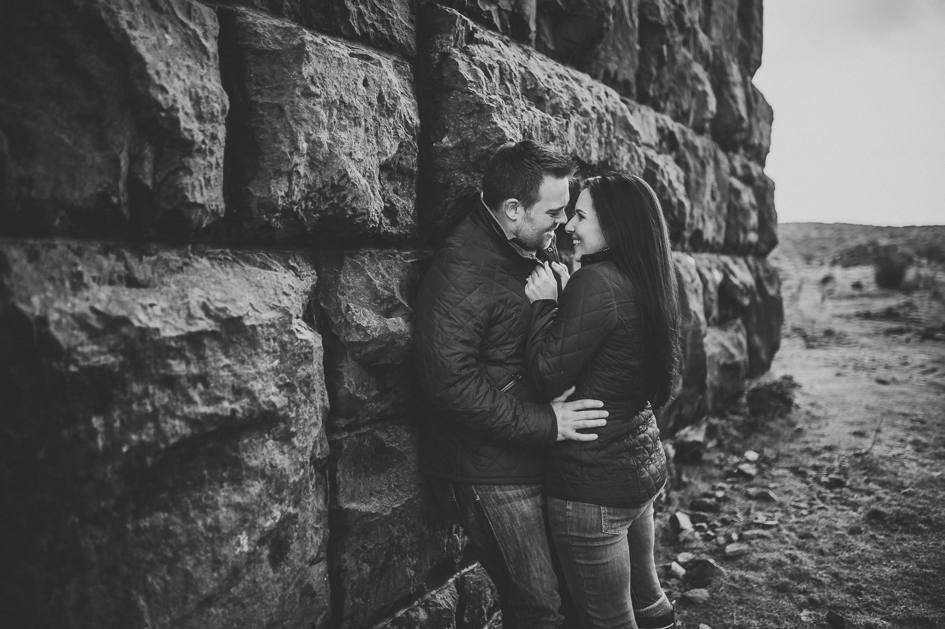 Rachael and Matt's Pre-Wedding Shoot at The Ribblehead Viaduct 029