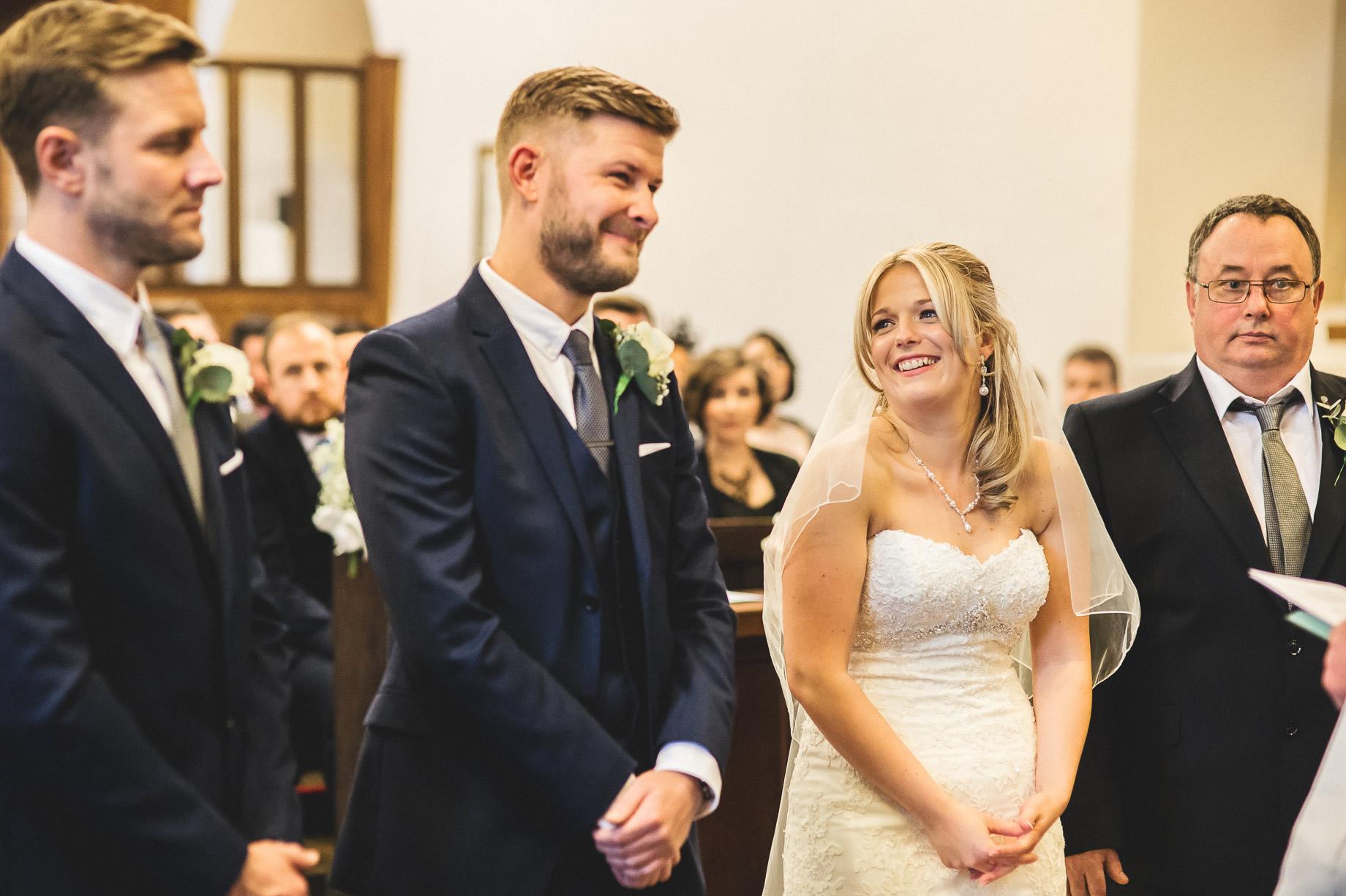 Jenny and Chris' Wedding at Mitton Hall 092