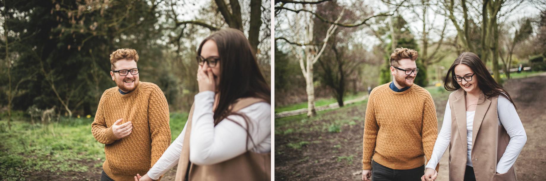 Kerrie and Tom's Portrait Shoot at Fletcher Moss Botanical Gardens 002