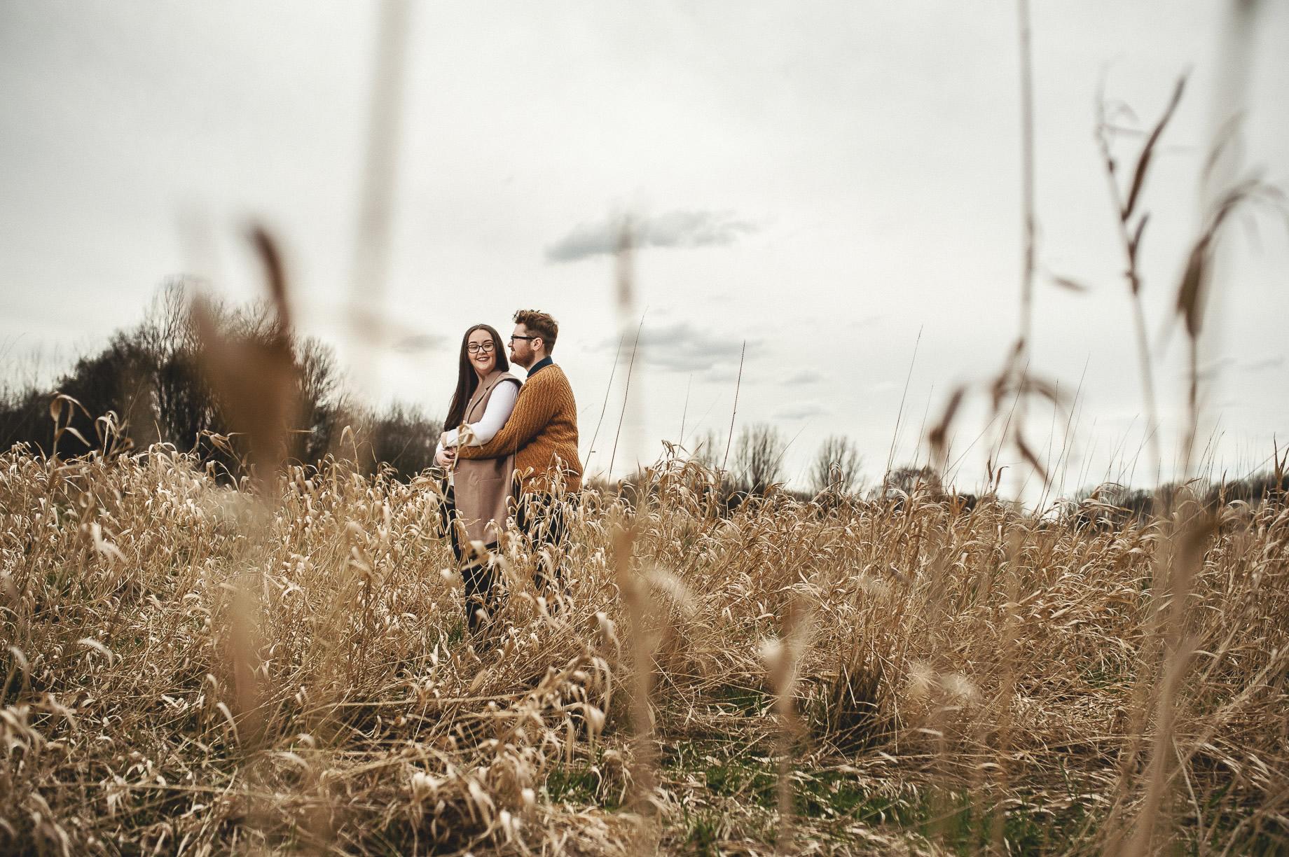 Kerrie and Tom's Portrait Shoot at Fletcher Moss Botanical Gardens 012