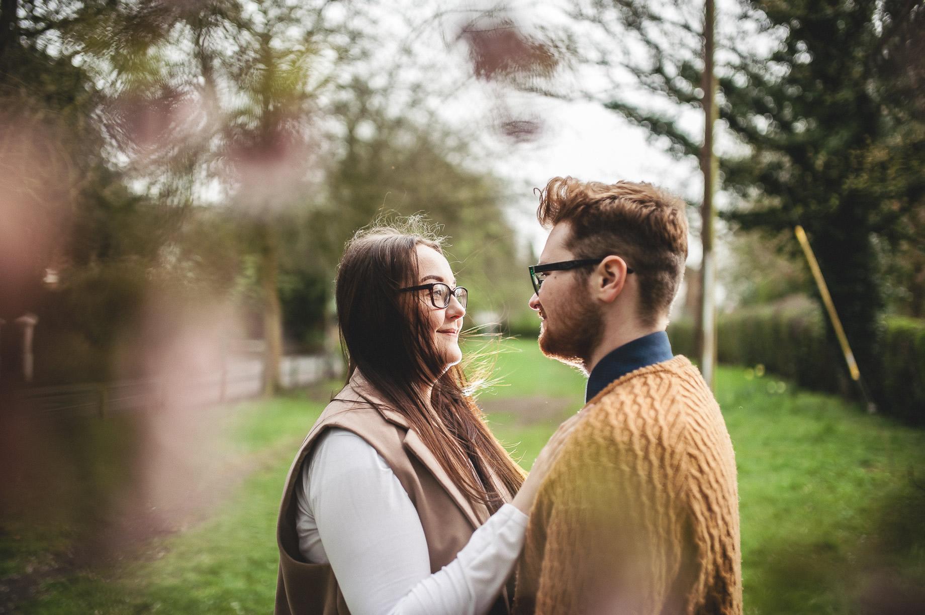 Kerrie and Tom's Portrait Shoot at Fletcher Moss Botanical Gardens 019